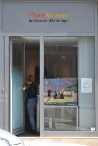 ©RocheGardies peintre   expo chez flora auvray arcitecte d'interieur Paris 2016  12