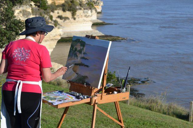 ©RocheGardies peintre stage de peinture sur motif plein air painting talmont meschers sur gironde 2017._0622