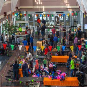 Main Entrance at the Rochester Mini Maker Faire