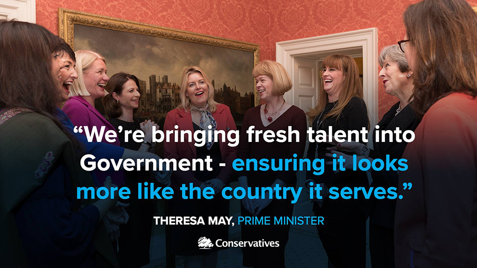 Fresh Talent into Government