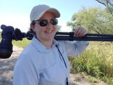 Jessie Barry grew up in Greece, NY and is an expert birder at Cornell Lab of Ornithology. She led the development of the Merlin ID program, and is now the program manager for the Macauley Library.