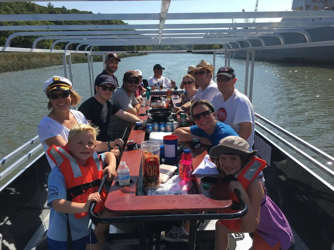 Cycle & Pedal Pontoon Boat Tours In Rochester NY