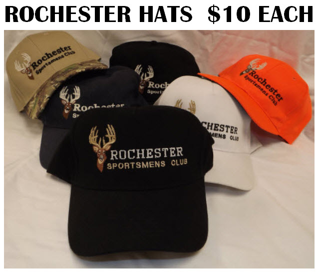Rochester Sportsmen's Club Hats