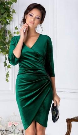 rochii din catifea scurte