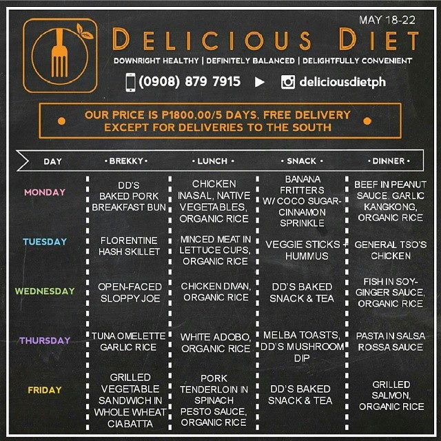 Review of delicious diet ph 5 day program and food delivery review of delicious diet ph 5 day program and food delivery rochkirstin com forumfinder Images