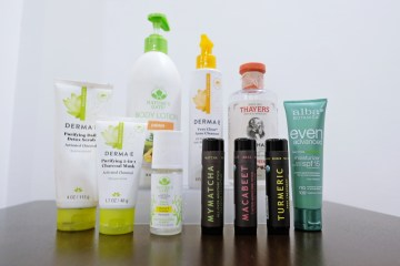 skincare beauty healthy options