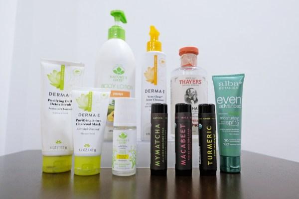 skincare beauty healthy options