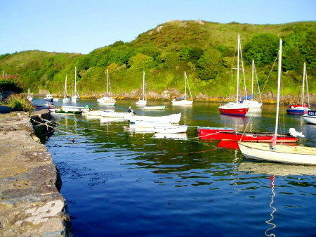 Solva Harbour, near to the Granary self catering holiday home, Pembrokeshire Coast National Park