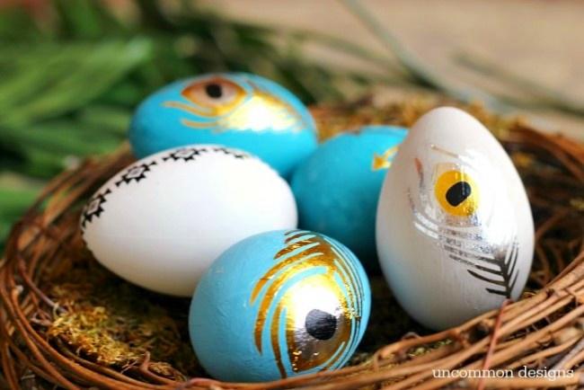 Huevos Pysanky, huevos de Pascua de Ucrania Linky