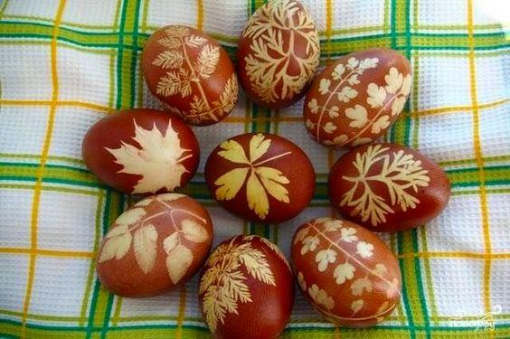 Huevos Pysanky, huevos de Pascua de Ucrania Lystovky