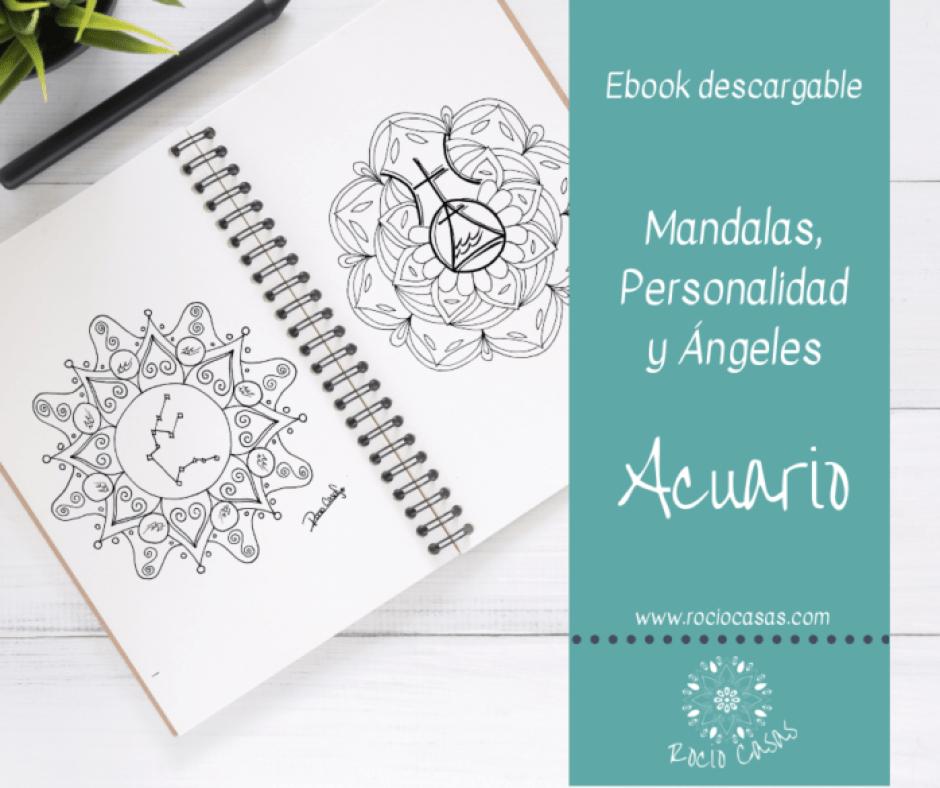 Mandalas, Personalidad y Ángeles para ACUARIO