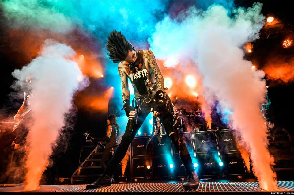 Black Veil Brides Sell Out Charlotte Black Mass Tour