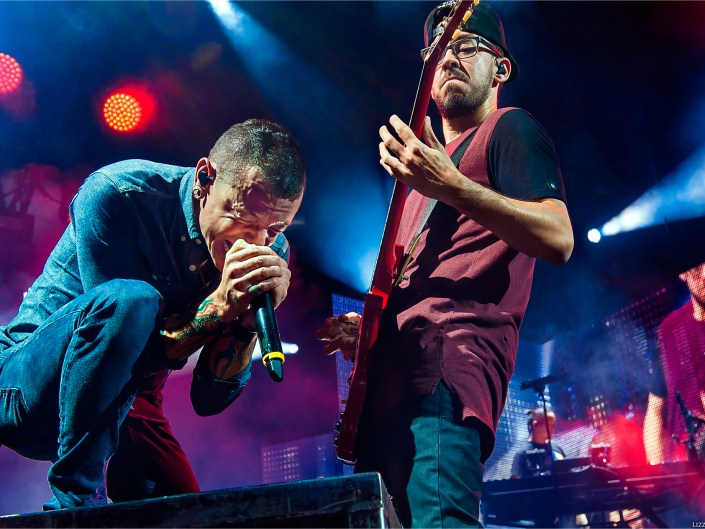 Linkin Park on Carnivores Tour