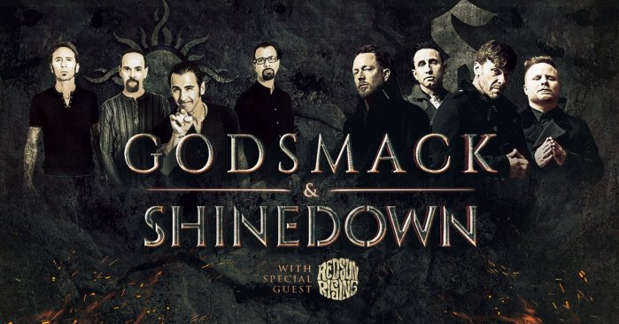 Shinedown and Godsmack Announce Summer Tour