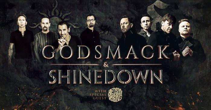 Shinedown and Godsmack Announce Summer Tour