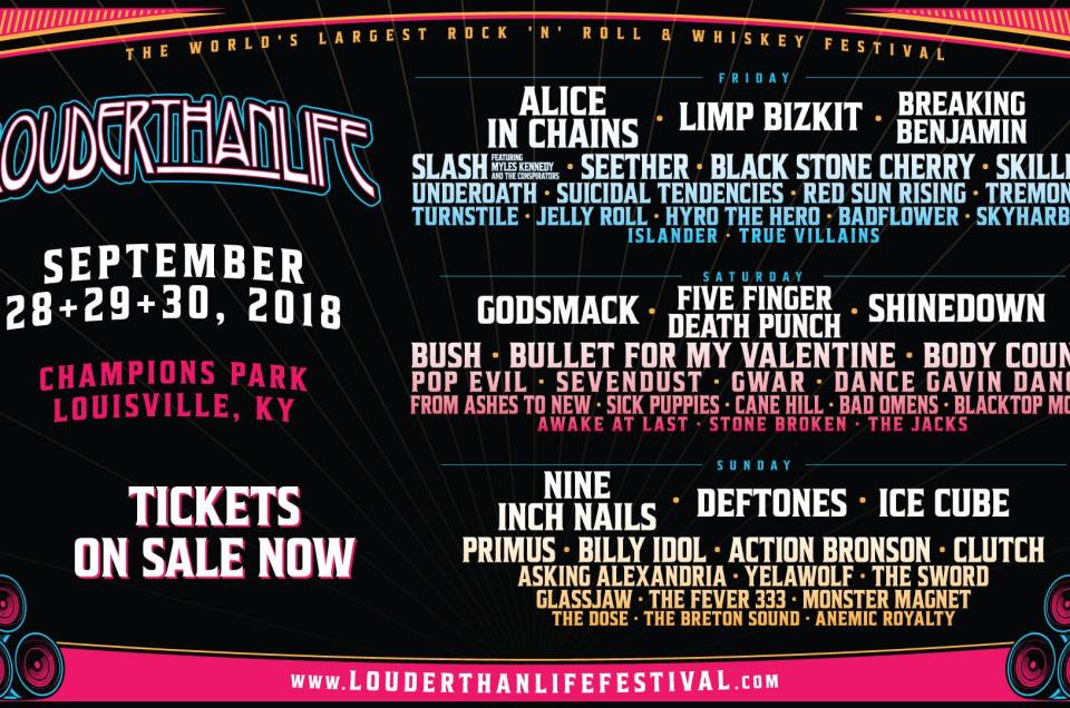 Louder Than Life Music Festival Canceled