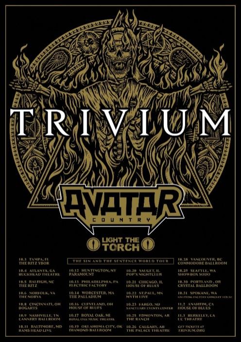 Trivium-Avatar-Tour