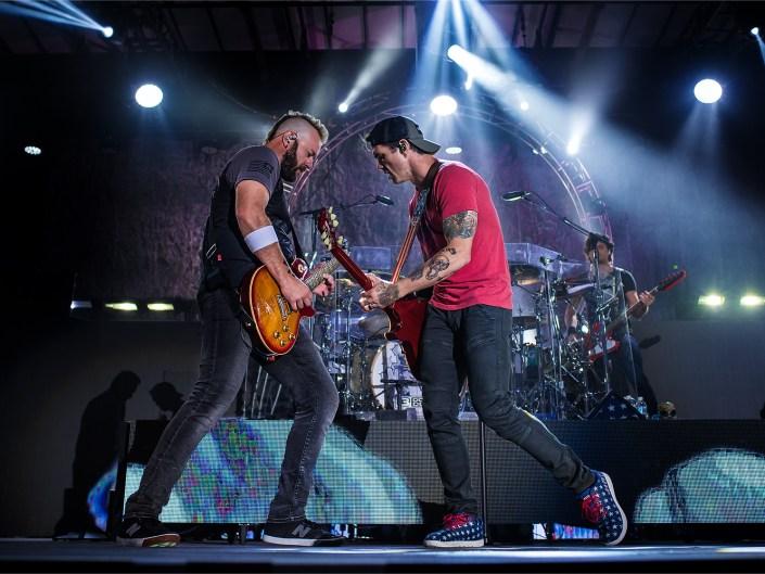 3 Doors Down on Rock & Roll Express Tour