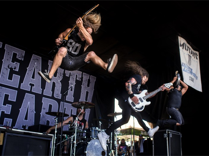 Unearth on Vans Warped Tour 2018