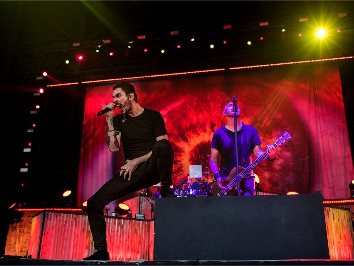 Breaking Benjamin at MidFlorida Credit Union Amphitheatre