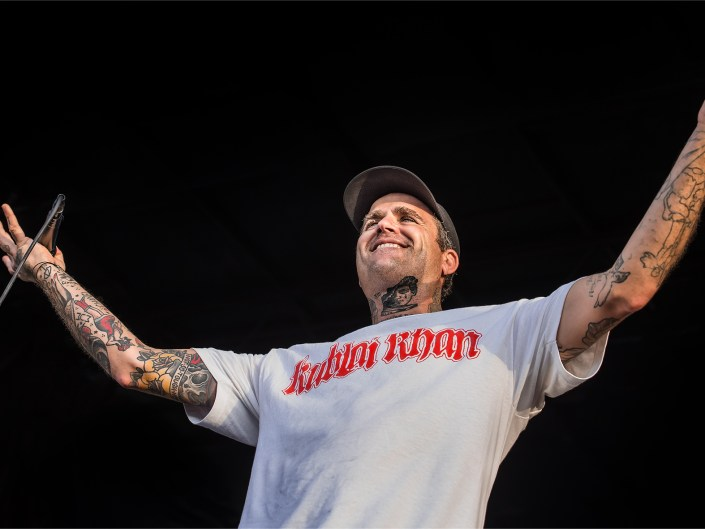 The Amity Affliction on Vans Warped Tour 2018
