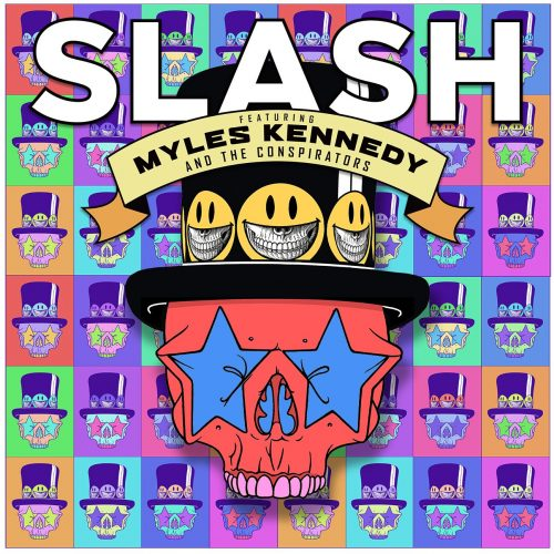 Slash ft. Myles Kennedy announce 'Living The Dream'