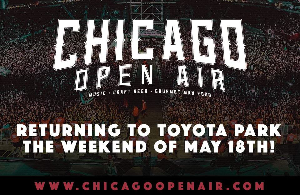 Music festival returns - Chicago Open Air 2019.