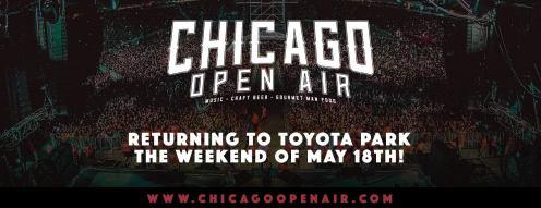 Music festival returns - Chicago Open Air 2019.