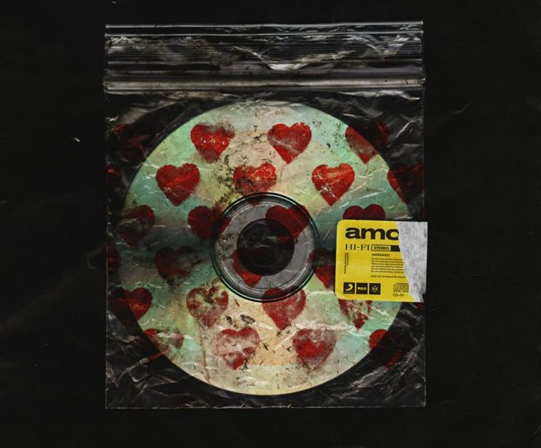 Bring Me The Horizon 'amo' album cover.
