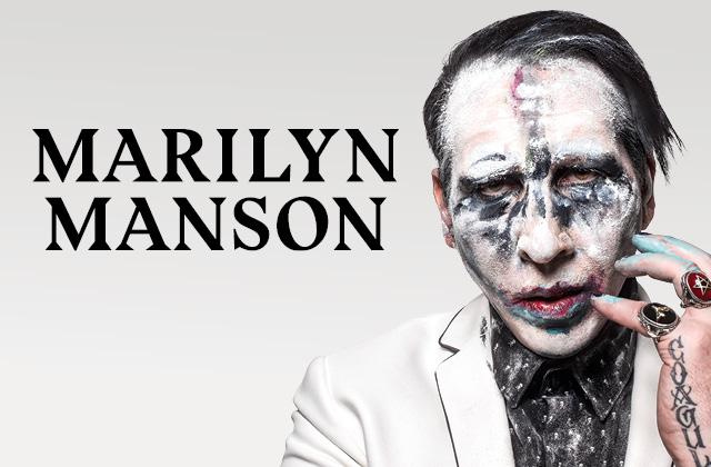 Marilyn Manson announces fall mini tour