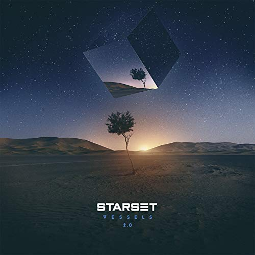 Starset Vessels 2.0 deluxe edition album cover.
