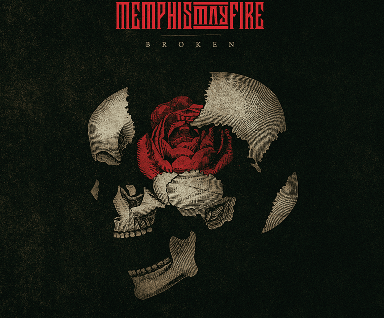 Memphis May Fire artwork for new album 'Broken'.