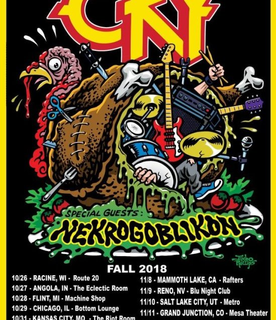 CKY announce fall 2018 tour with Nekrogoblikon.