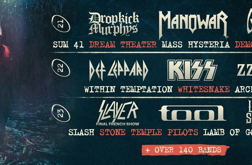 France's Hellfest 2019 lineup has been unveiled