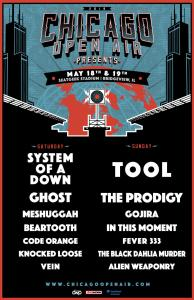 The Chicago Open Air 2019 lineup has been announced!