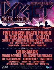 Impact Music Festival 2019 lineup announced!