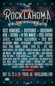 Rocklahoma 2019 lineup has been announced!