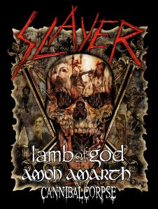 Slayer extends their Final World Tour with Leg Five: North America.