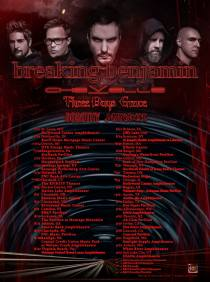 Breaking Benjamin have announced a headline tour for summer 2019 with Chevelle, Three Days Grace, Dorothy and Diamante.