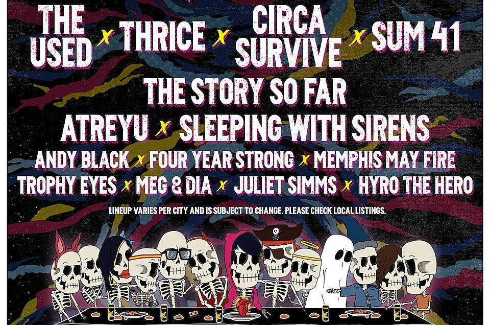 Brand new Rockstar Energy Drink DISRUPT Festival announced for summer 2019 featuring The Used, Thrice, Circa Survive, Sum 41 + more.