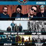Win a pair of free tickets to WJRR's Earthday Birthday 26 festival, headlining Godsmack and Three Days Grace!