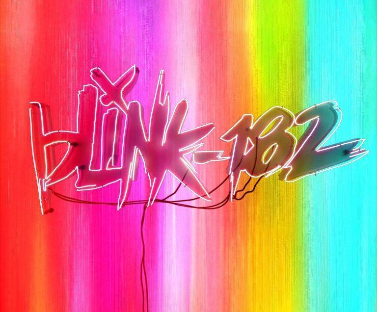 Album cover for Blink-182's upcoming album 'NINE'.