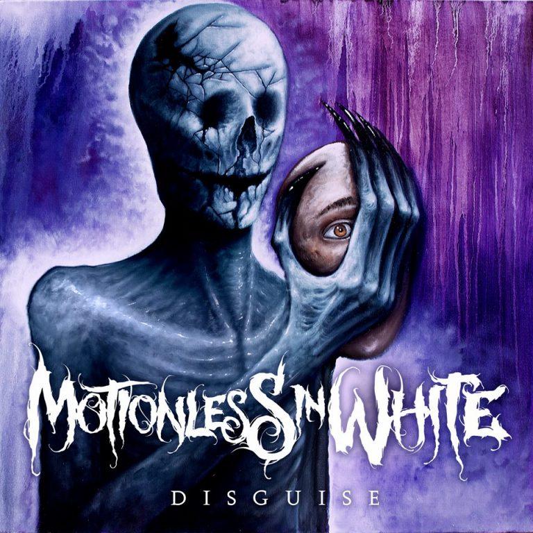 Album art for Motionless In White's fifth studio album 'Disguise'.
