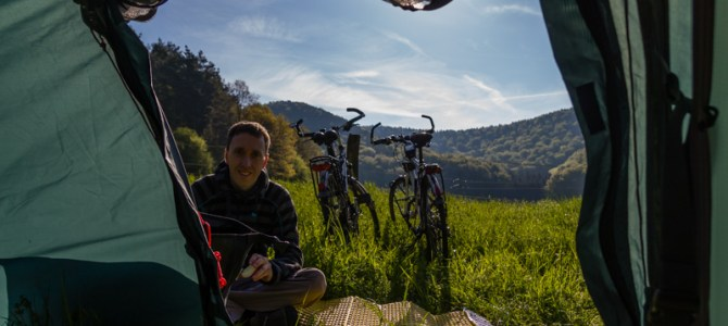 Cycling and climbing in the Pfalz
