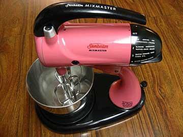 Pink Retro Mixer Rockabelle Bombshell