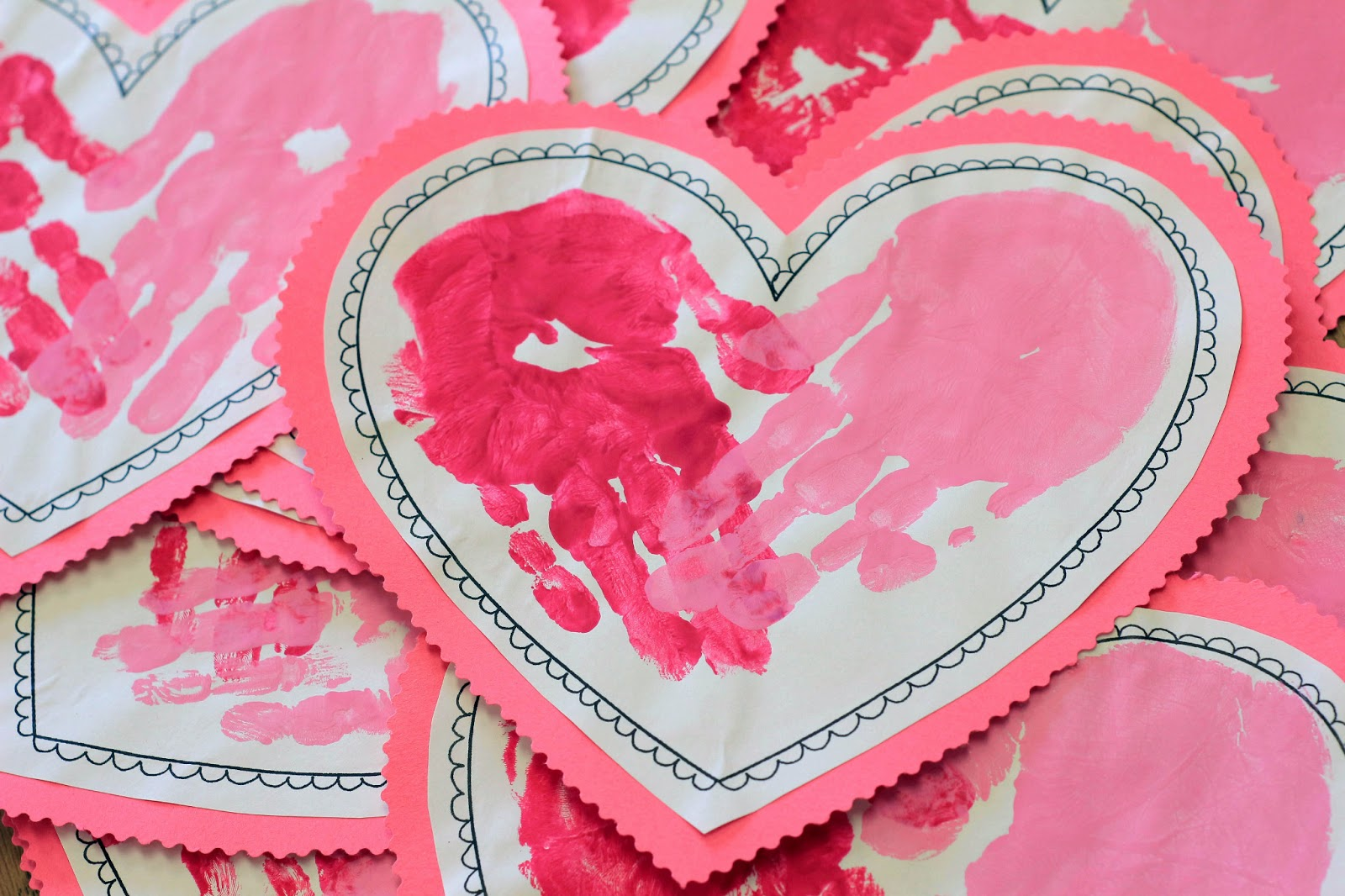 Valentine S Day Craft For Kids Amp Adults Rockabilly Mama