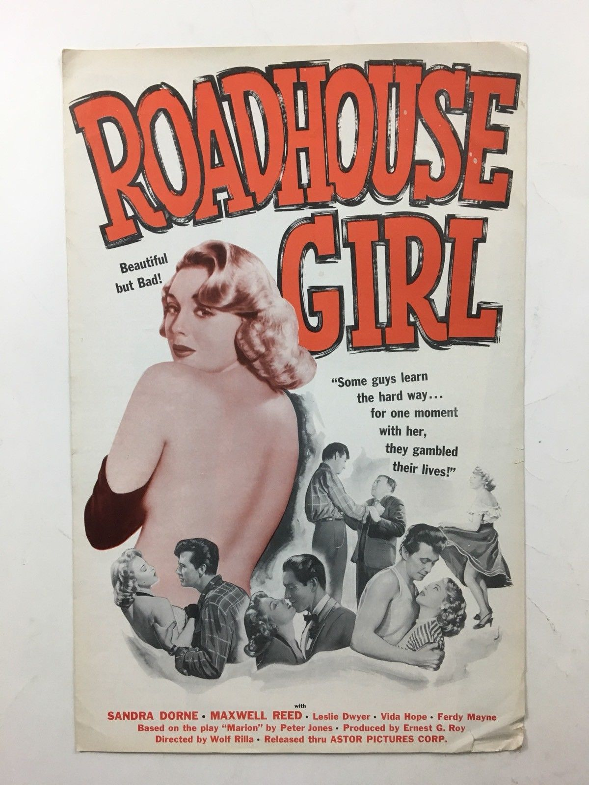 roadhouse girl pressbook