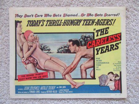 careless years lobby card