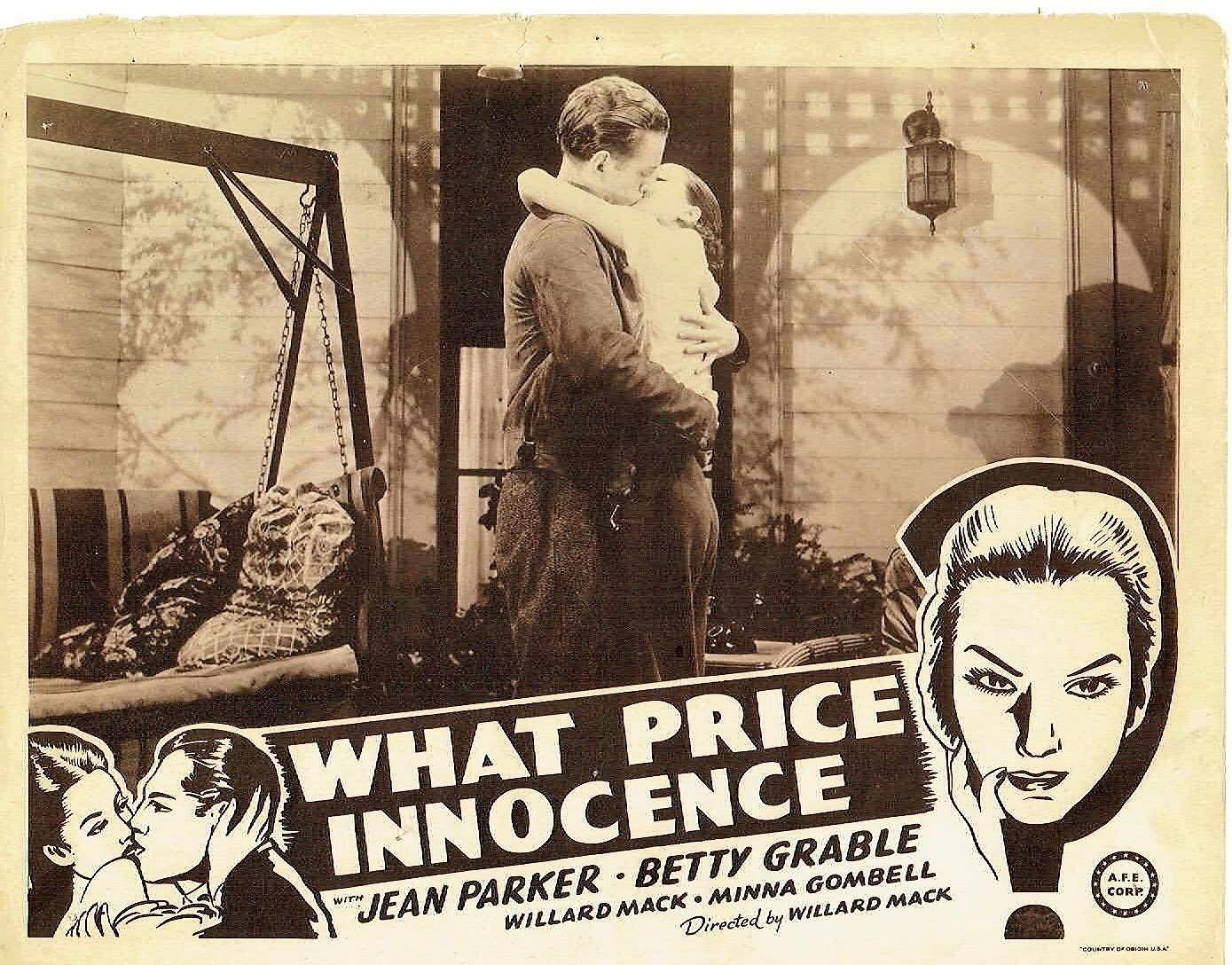 what price innocence lobby card