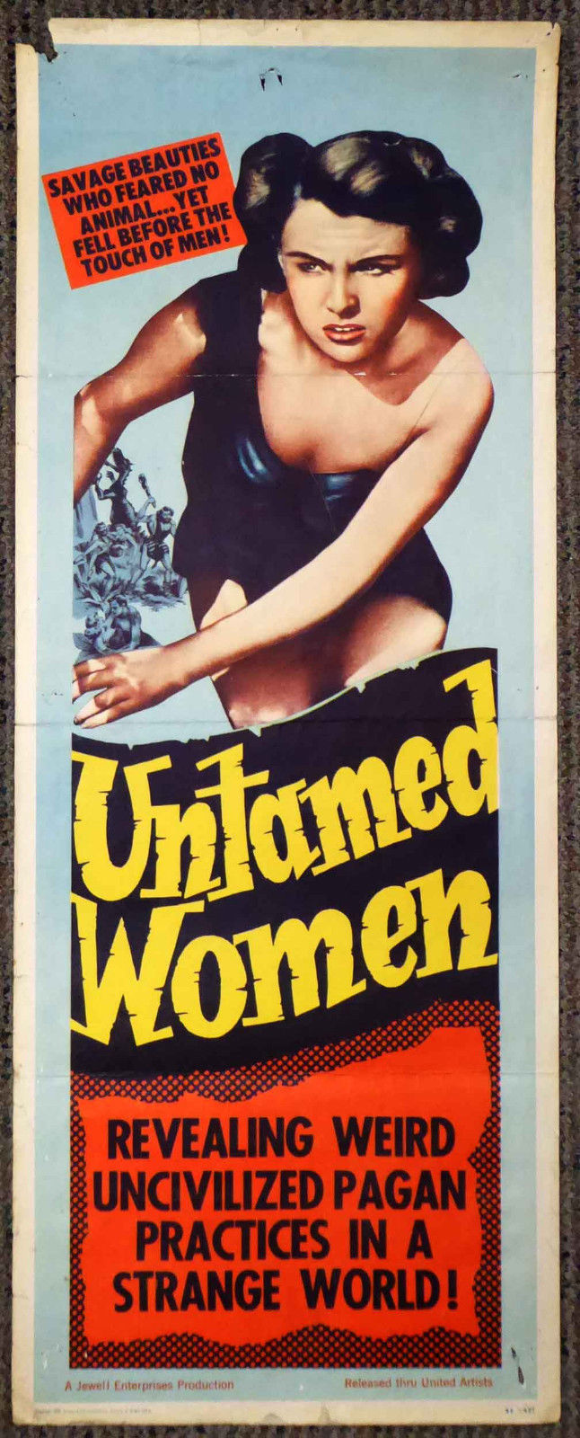 untamed women insert